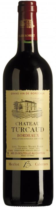 Château Turcaud Bordeaux Rouge 0,75l