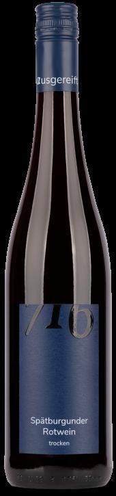 Spätburgunder Rotwein 716 trocken 0,75l