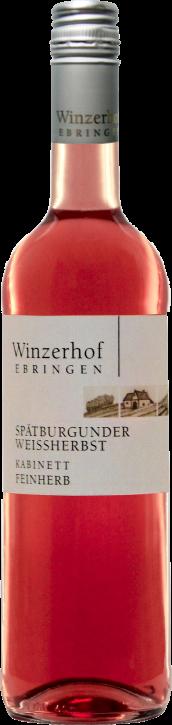 Spätburgunder Weissherbst Rose feinherb 0,75l