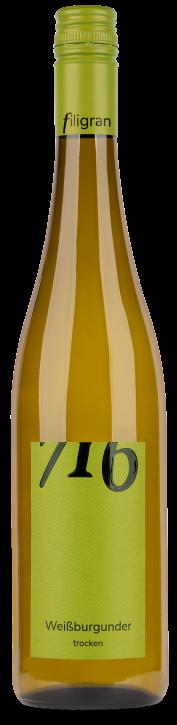 Weissburgunder 716 trocken 0,75l